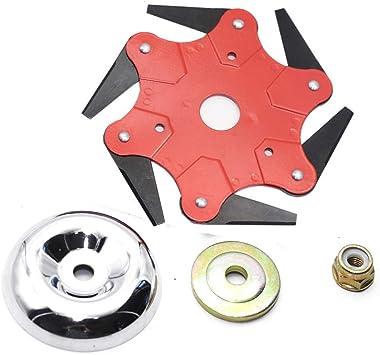 Amazon.com: Cabezal de corte de acero de 6 piezas ...