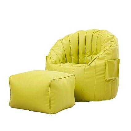 Ultra Soft Bean Bag Chair Memory Foam Bean Bag Chair Stuffed