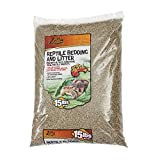 Zilla Reptile Terrarium Bedding Substrate Litter Alfalfa, 15-Pounds