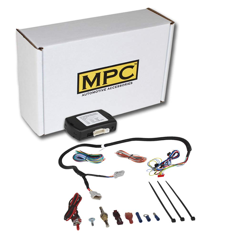Remote Start System Compatible with 2009-12 Dodge RAM 1500//2500//3500 Includes Factory T-Harness for Clean Installation