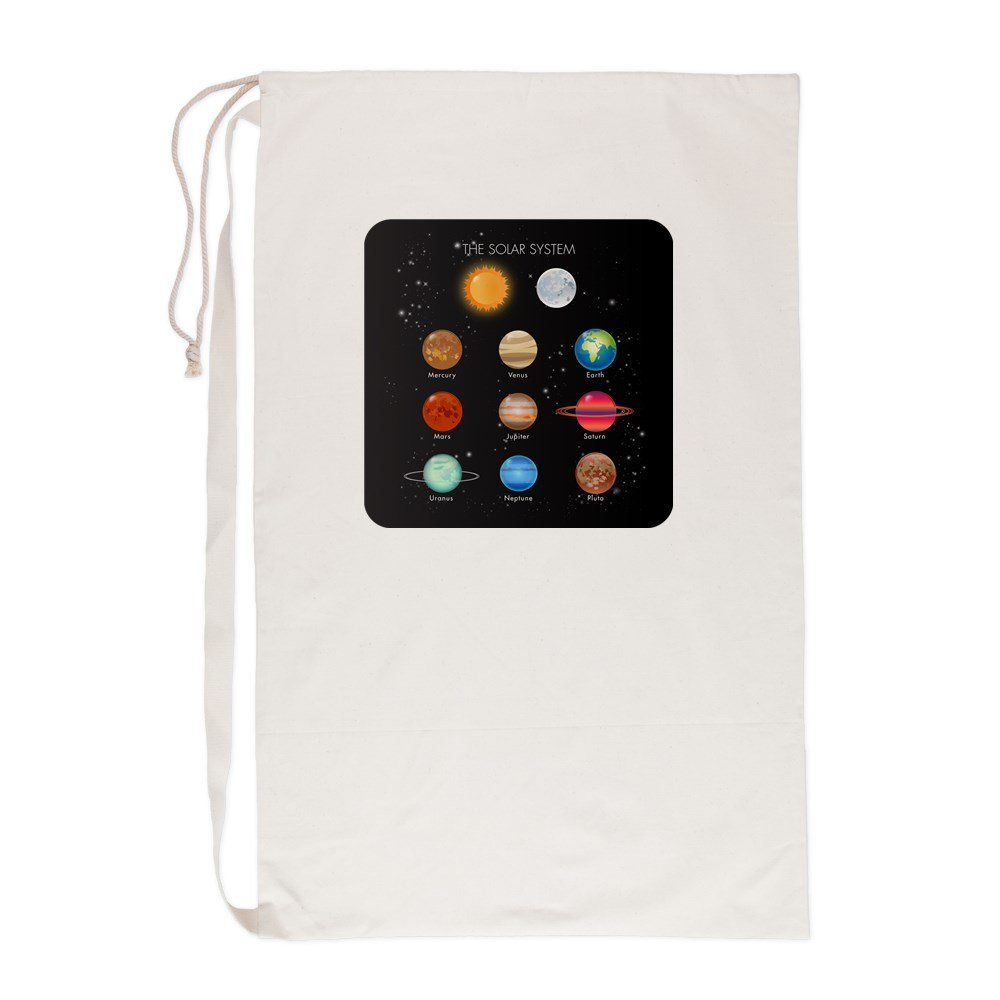 Laundry Bag Solar System Sun Moon and Planets