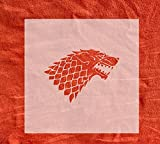 Game of Thrones Stencil 4-10 inch Sizes Available