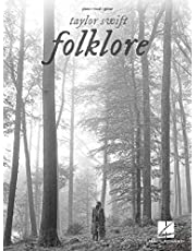 Taylor Swift - Folklore: Piano/Vocal/Guitar Songbook