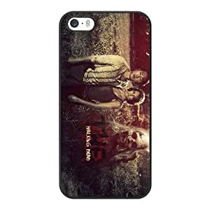 The Walking Dead R5G2JA2M Caso funda iPhone 5 5s Caso funda del teléfono celular Negro