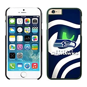 Iphone 6 Cover Case Seattle Seahawks iPhone 6 5.5 Inches Cases 21 Black TPU Protective Phone Case