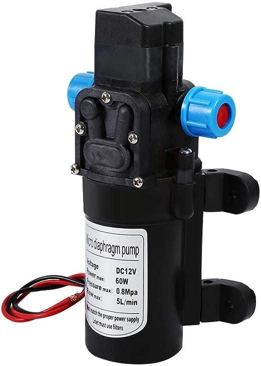 Wasserpumpe Dc 12v Hochdruck 116psi Selbstansaugend Wasserpumpe Für Caravan Camping Boot Auto