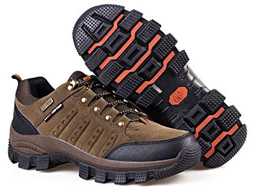 Rain Unisex Trekking Vandring Sportsko Män Kvinnor Utomhus Walking Sneaker Brun
