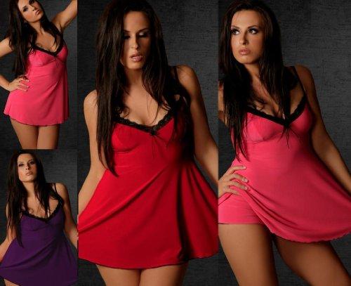 Nueve X- Plus tamaño Cami Set, 10–�?4, S–�?x l lencería, muchos colores pijama morado