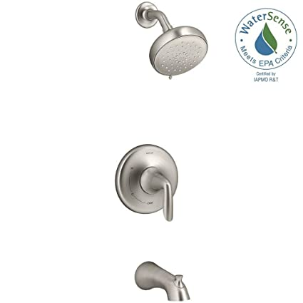 Kohler Willamette Single-Handle 3-Spray Tub and Shower Faucet in ...
