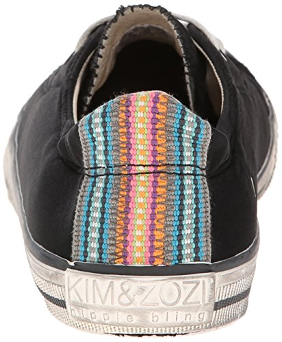 Low KIM Neo Fashion amp;ZOZI Womens amp;ZOZI Black KIM Sneaker r6wxq6TX