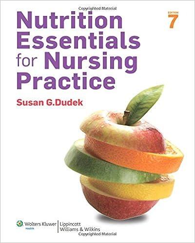 Nutrition Essentials For Nursing Practice 7th Edition