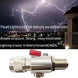 Coaxial N Type Lightning Arrestor 0 to 6 GHz