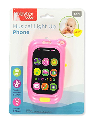 Playtex Baby Musical Light-Up Phone - Pink, one Size