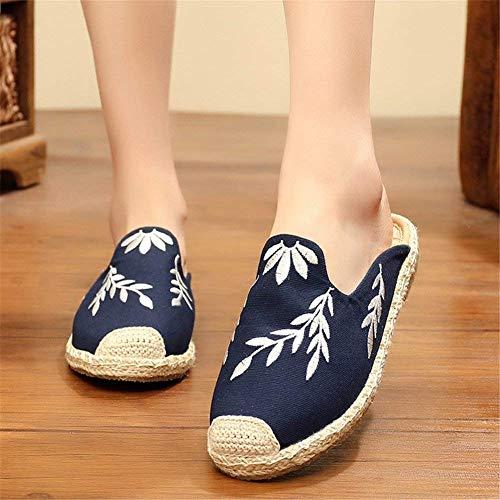 Firengoli Am01euws020 Donna Deep Pantofole Blue gYXwqwfx6