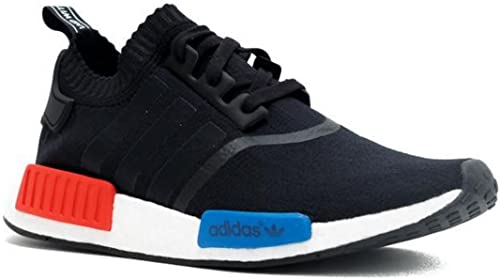adidas, NMD Trainer, Black with Red