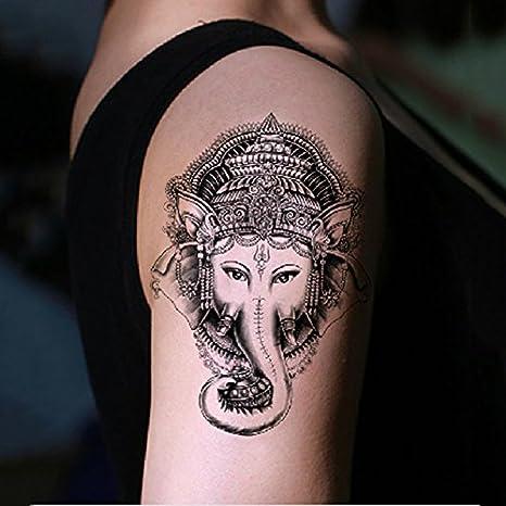 soxid (TM) 1pcs Sexo elefante 3d, diseño de Ganesha tatuaje falso ...