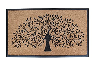 A1 Home Collections A1HOME200002 Shredding Tree Door Mat