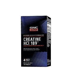 GNC AMP Creatine HCl 189