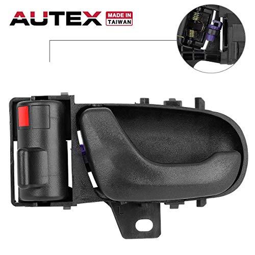 - AUTEX Door Handle Interior Front/Rear Left Driver Side LH Compatible with Geo Metro,Suzuki Swift 1992 1993 1994 8313065E005ES 80475 30008961