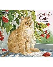 LANG LOVE OF CATS 2022 WALL CALENDAR (22991001926)