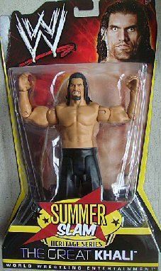 WWE Summer Slam Heritage 2008: Great Khali Figure - PPV Series #9 by Mattel