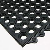 "Anti-Fatigue Drainage Rubber Mat Roll 83""x"
