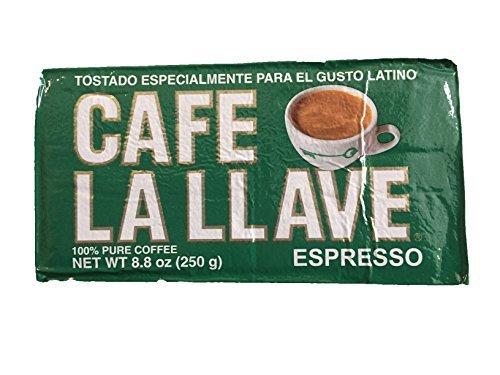 Cafe La Llave Ground Espresso Coffee (8.8oz)
