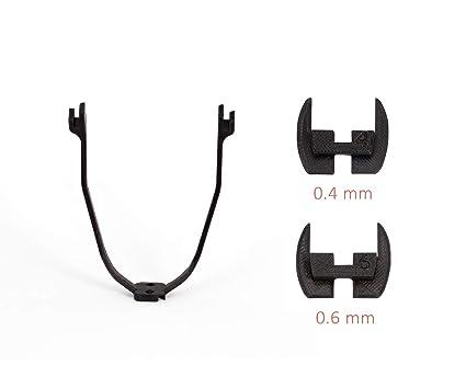 escooter3D Piezas de modificación Impresas Esenciales 3D para la Vespa eléctrica Xiaomi Mijia M365 / M187. Kit de Arranque: Soporte de Guardabarros ...