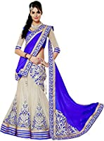Manav Fashion Embroidered Women's Lahenga Choli (Multicolor, Size: Free)