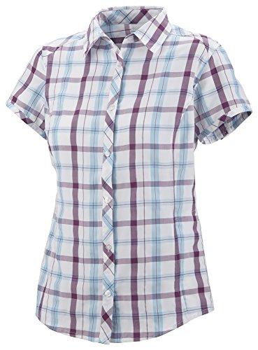 Columbia Women's Surviv Elle Ii Shirt 1X Berry - Uk Outlet Columbia