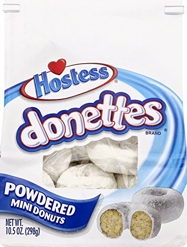 Donettes Powdered Bagged  0 8 Lb