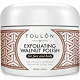 No need to search further... When your Exfoliating Walnut Polish arrives, it will be clear you ordered the perfect face & body scrub. Say goodbye to a dull complexion, blackheads & uneven tone; Say welcome to beautiful, clear, exfoliated skin...