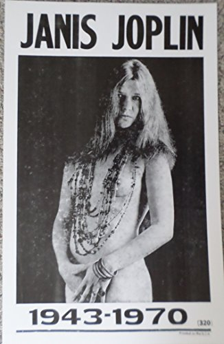 Janis Joplin(Pearl) with beads and 1943-1970 Poster