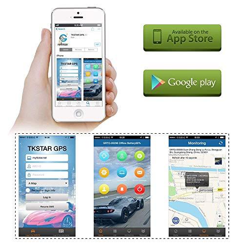 Amazon.com: Tkstar - Localizador de GPS personal con ...