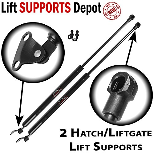 Qty (2) Fits Land Cruiser & LX470 1998 To 2007 Rear Liftgate Hatch Tailgate Lift ()