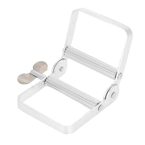 Exprimidor de pasta de dientes de tubo de aluminio, soporte de crema del soporte del