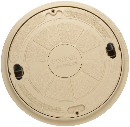 Pentair Admiral Skimmer (Pentair 85018000 9-Inch Beige Complete Lid with Ring Seat Replacement Admiral Pool and Spa)