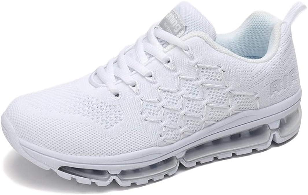 Air Zapatillas de Running para Hombre Mujer Zapatos para Correr y Asfalto Aire Libre y Deportes Calzado: Amazon.es: Zapatos y complementos