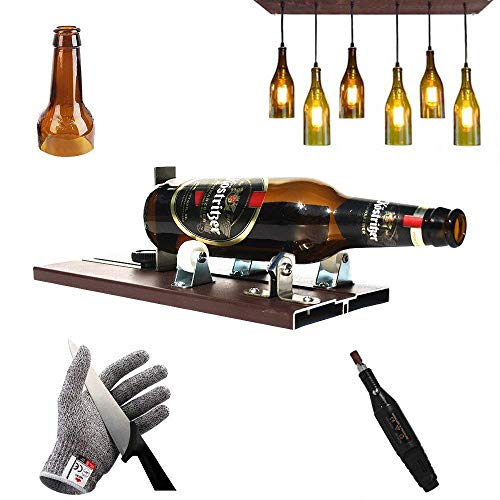 Bottle Cutter Kit | Wine Glass Cutting Tool | DIY Stained Glasses Portable Metal