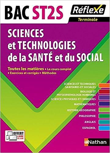 Lire en ligne Toutes les matières Terminale ST2S - Sciences et Technologies de la Santé et du Social pdf, epub ebook