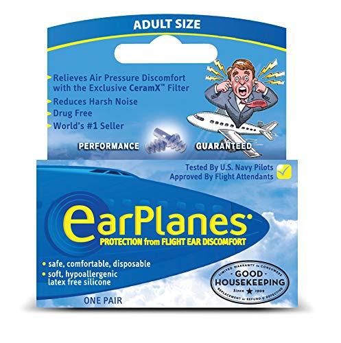 Original Child Earplanes By Cirrus Healthcare Earplug For Airplane Travel Ear