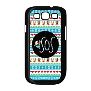 AMAF ? Accessories Custom Design 5 Seconds of Summer 5sos Snap on Hard Cover Case for Samsung Galaxy S III / S3 i9300 [ 5 sos ]