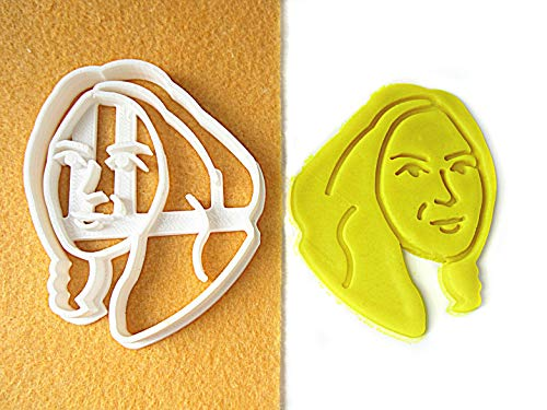 Portrait Custom Cookie Cutter, Personalized with Your Face. Birthday, Retirement, Best Friend Gift