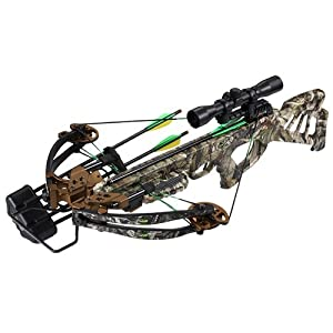 SA Sports Empire Beowulf 360FPS Crossbow Package, Camouflage