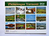Picturesque Vermont Wall Calendar