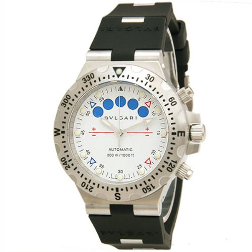 Bvlgari diagono profesional Acqua Fly-Back cronógrafo automático hombre 300 M Bulgari reloj sd40sv/RE: Amazon.es: Relojes