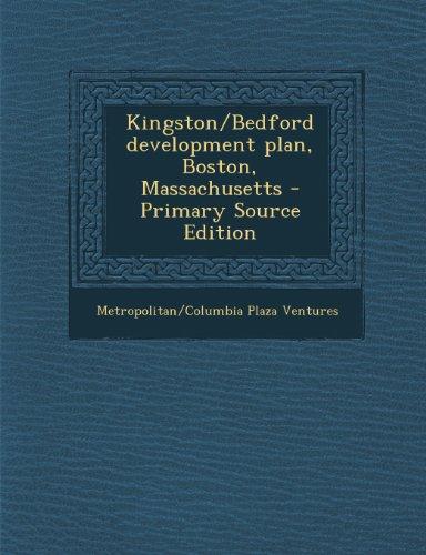 Kingston/Bedford Development Plan, Boston, Massachusetts - Primary Source (Kingston Plaza)