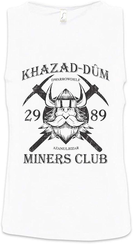 Urban Backwoods Khazad-Dum Miners Club Homme Men Tank Top D/ébardeur Vest