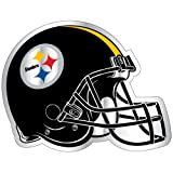 PITTSBURGH STEELERS LARGE12 INCH HELMET REFLECTIVE MAGNET