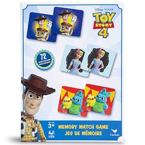 Disney Pixar Toy Story 4 Memory Match Card Matching Game